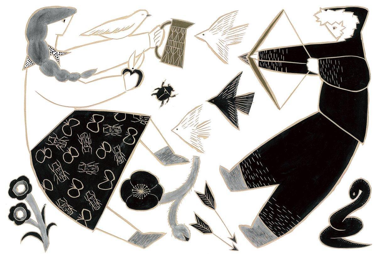 柊有花さんの個展「一人では、生きてゆけない」より
