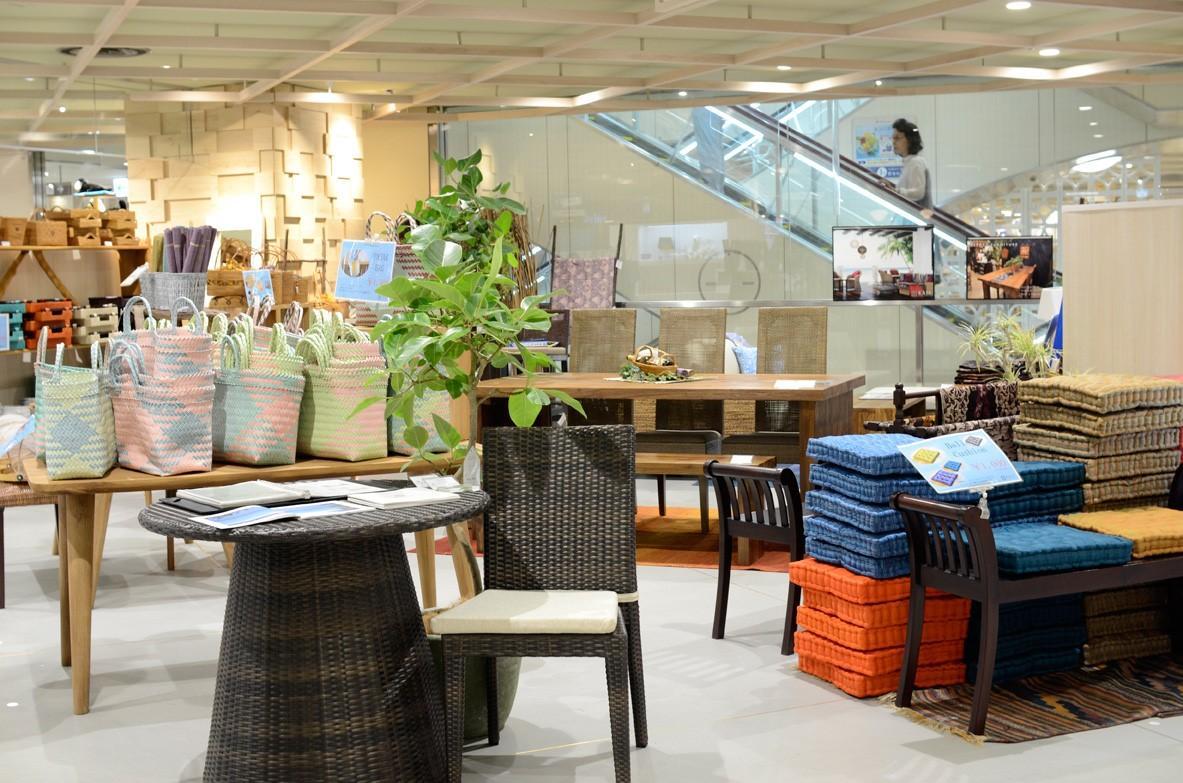 東急吉祥寺3階「武蔵野マルシェ」内、アジアン家具・雑貨のインテリアショップ「KAJA Resort Furniture」ポップアップストア 新鮮なリゾート&エスニックの雰囲気を期間限定で。
