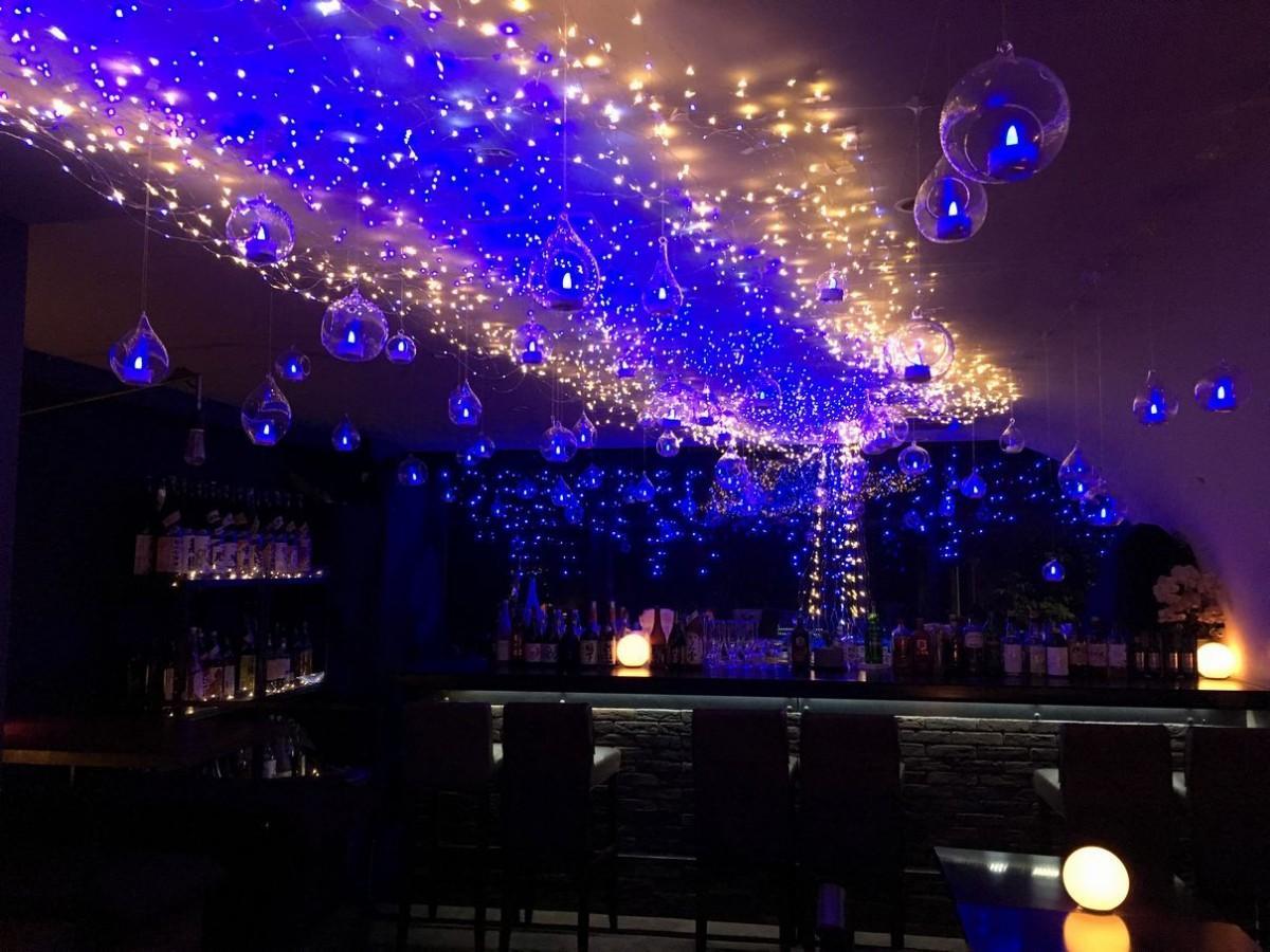 吉祥寺「サンタマバー」でLED5000球を使った夏イルミイベント