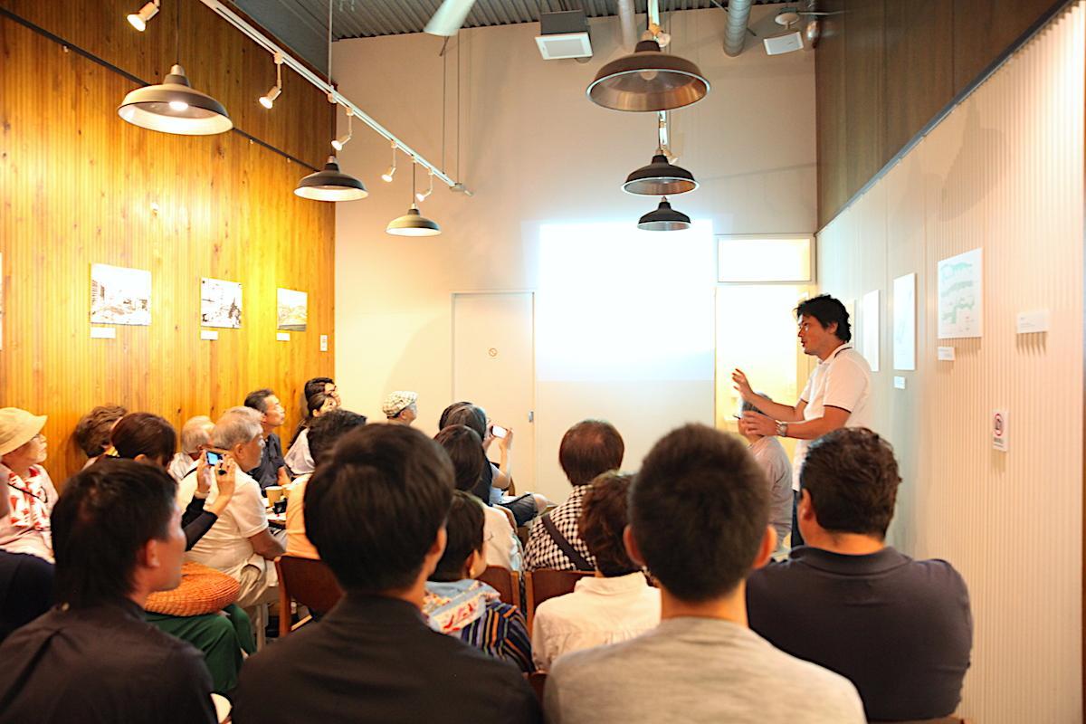 吉祥寺の「「patisserie A.K Labo」で開催されたトークイベントの様子