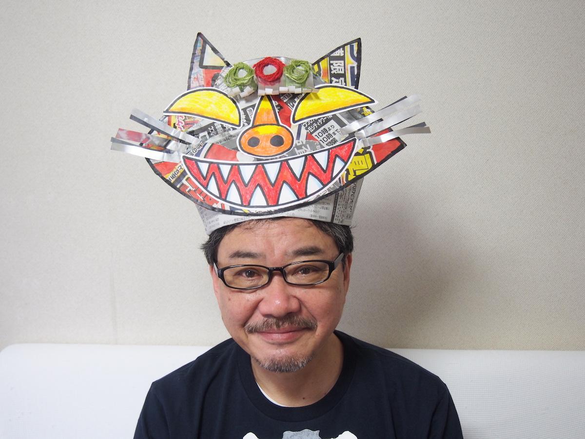 ワークショップ「妖怪になって大行進~!」を開催する絵本作家の広瀬克也さん