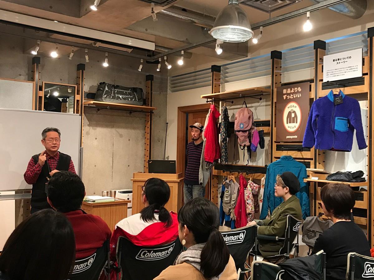川嶋直さんによるトーク&ワークショップの様子