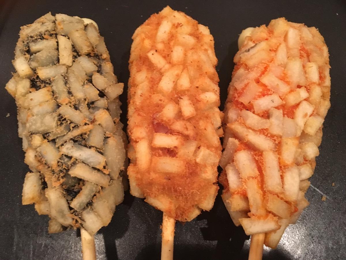「吉祥寺ココマルハートカフェ」で提供するチーズハットク