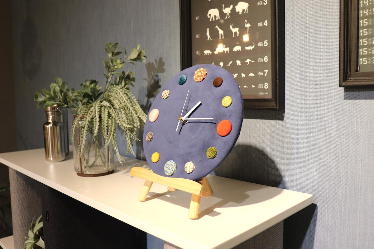 壁掛け時計の完成イメージ