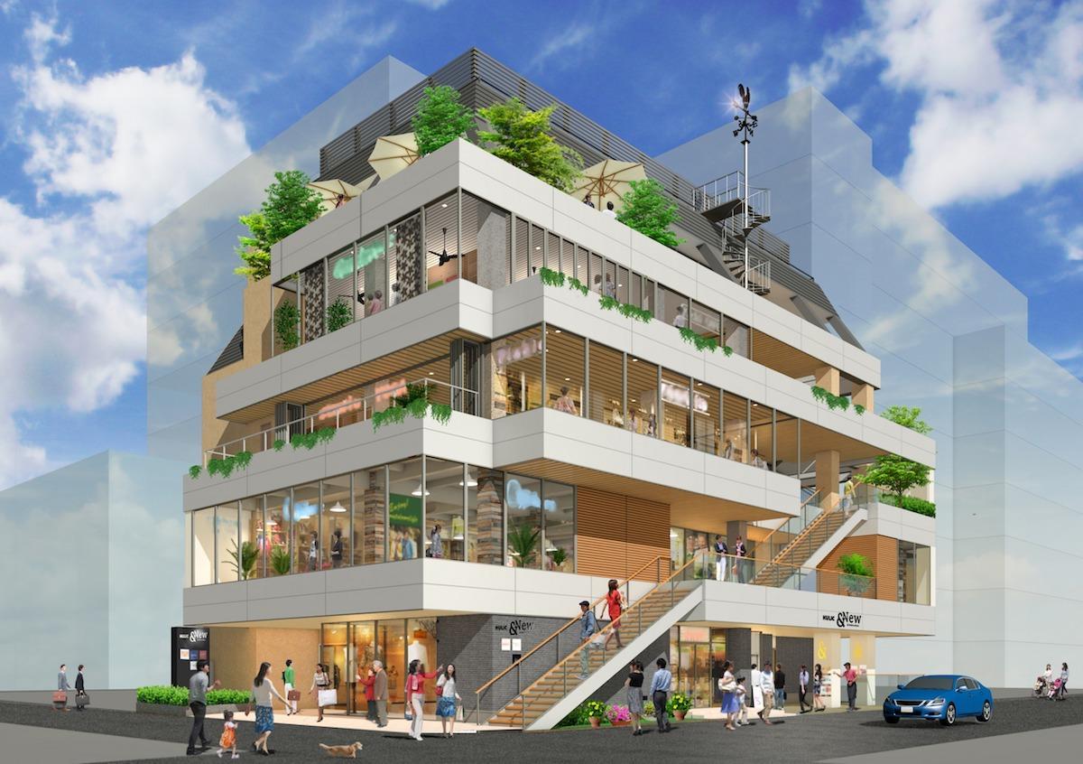 「HULIC &New KICHIJOJI」の外観イメージ