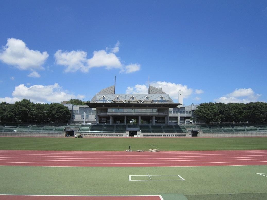 「セレブレーション」が行われる武蔵野陸上競技場