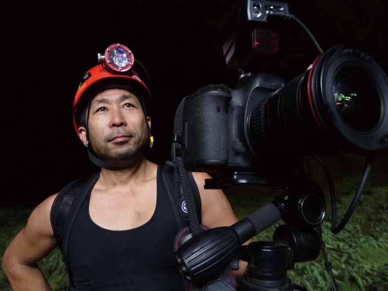 講師には洞窟探検家の吉田勝次さんを迎える