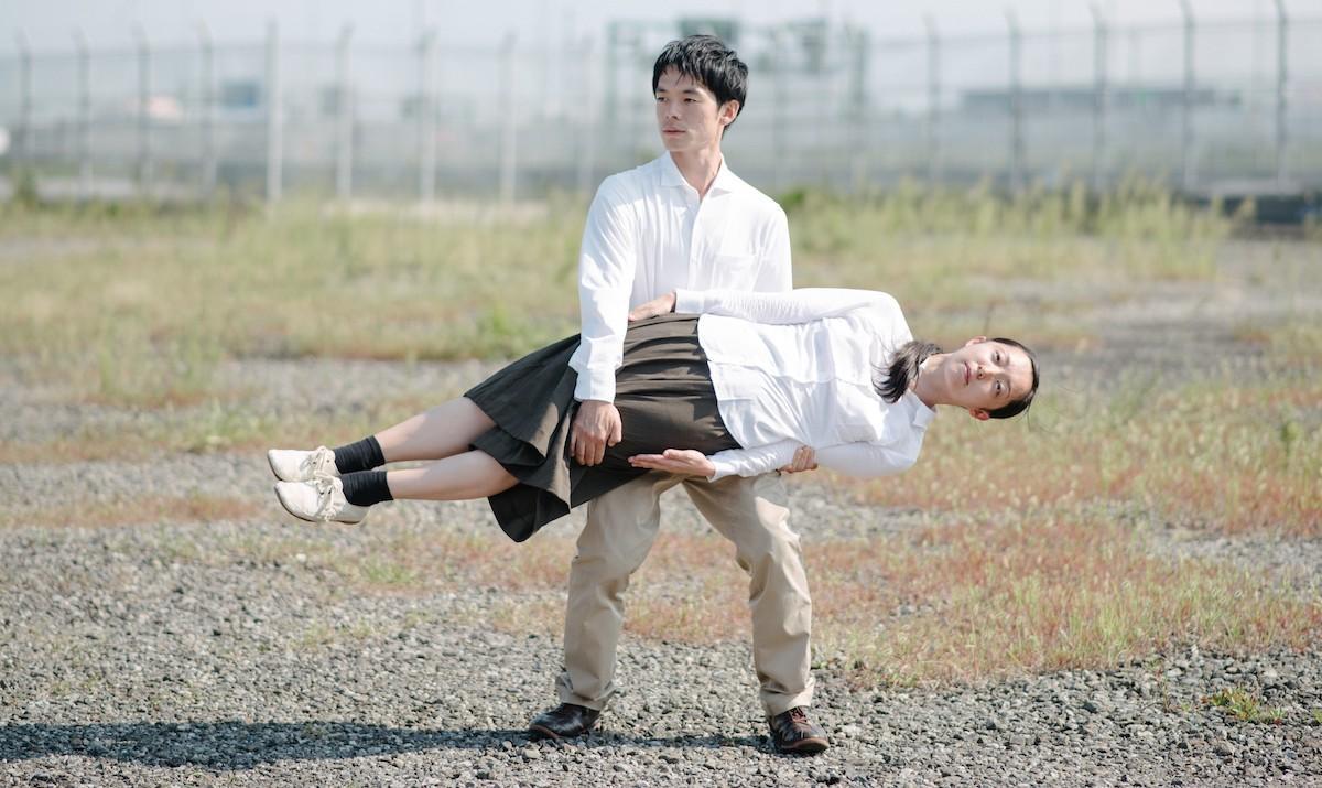 コンテンポラリーダンスユニット「アグネス吉井」の二人 プロフィール写真: ©金子愛帆