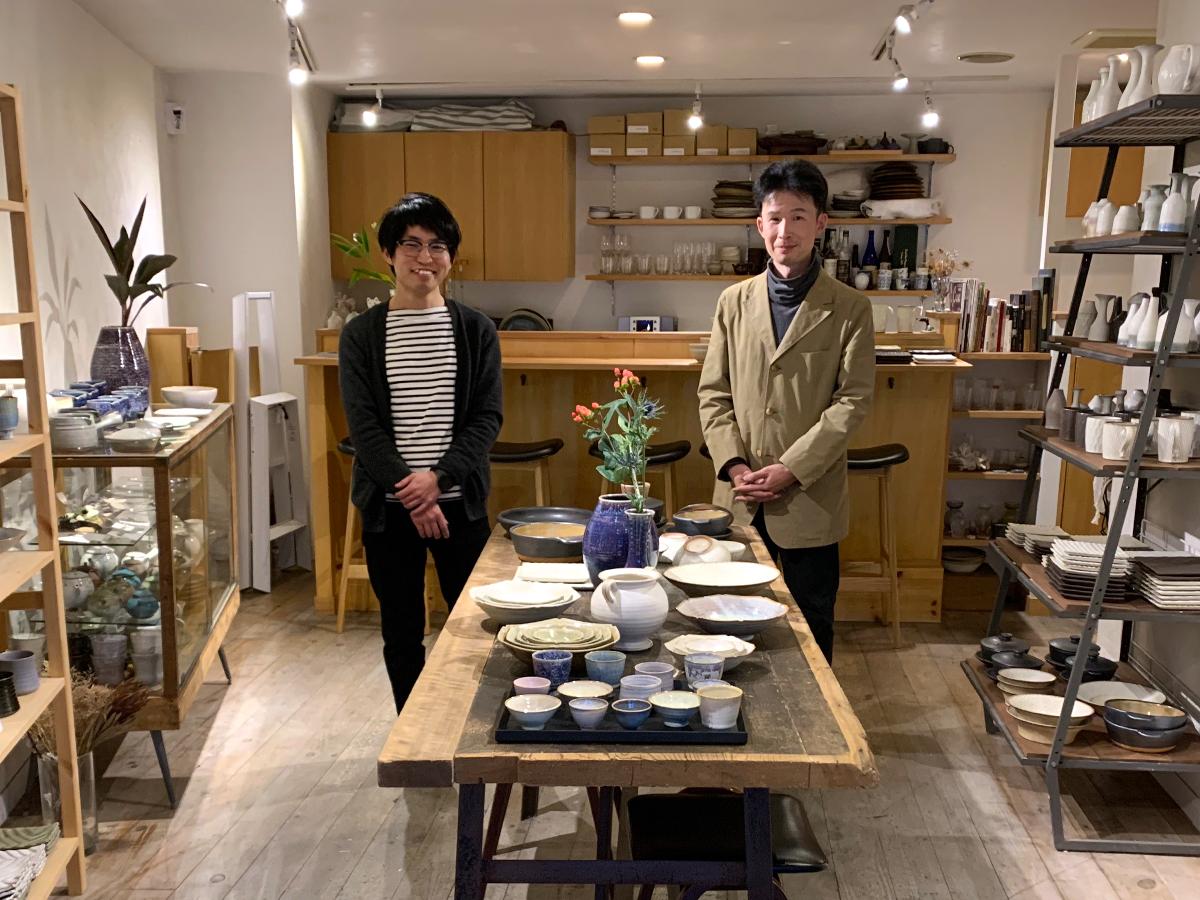 見野大介さん(左)と増田哲士さん(右)