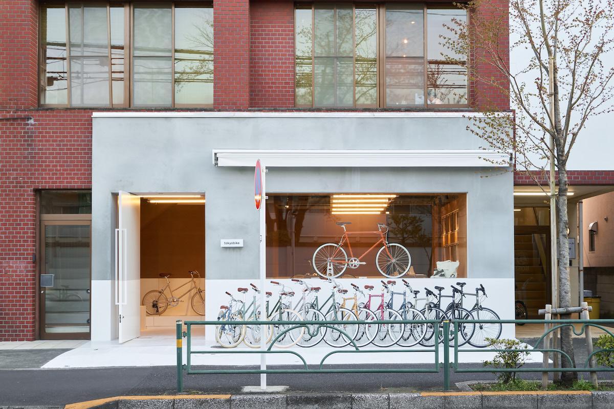 「Tokyobike Shop 吉祥寺」の外観