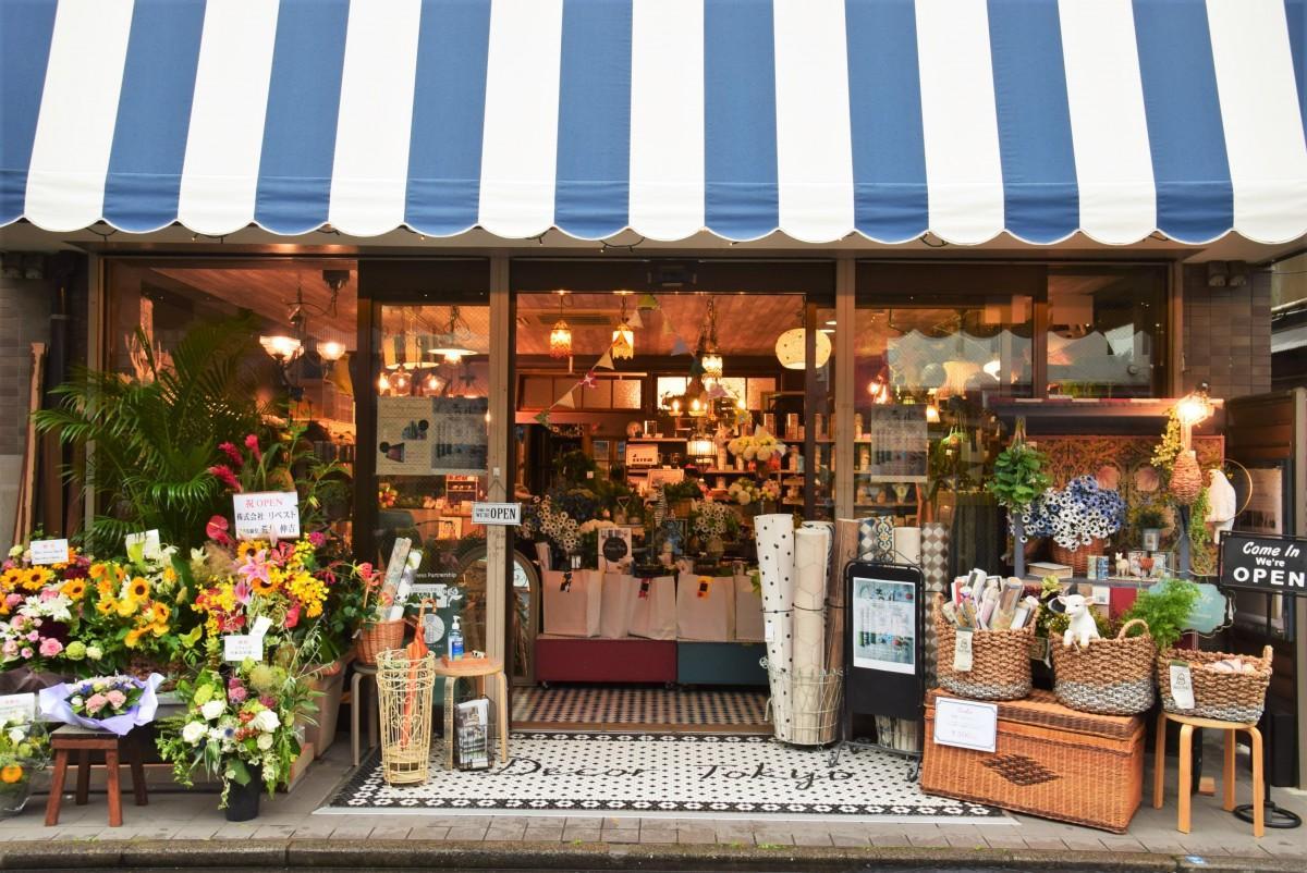 昭和通りにオープンした「Decor Interior Tokyo」の外観