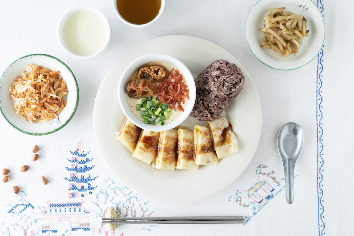 ミールキットで楽しめる台湾の朝食(イメージ)
