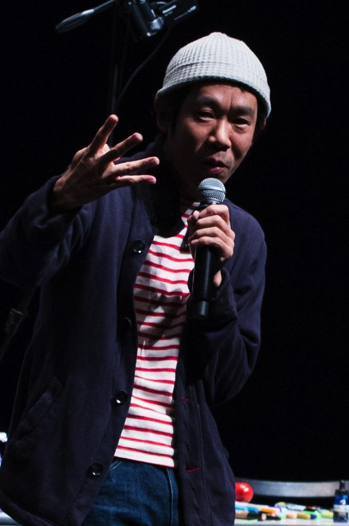 前回行われたトークライブでの様子。撮影:和久井幸一