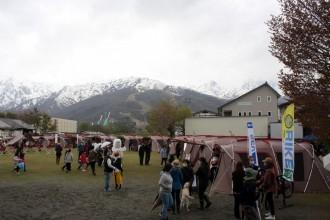 スノーピーク白馬、グリーンシーズン幕開けで初のオープニングイベント