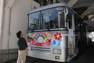 長野・大町 トロバス記念館でトロリーバスの誕生日祝うイベント