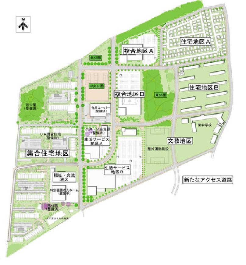 上の原地区の事業計画