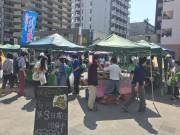 東村山の朝市「マルシェ久米川」が6周年 地元産の農産物を届ける