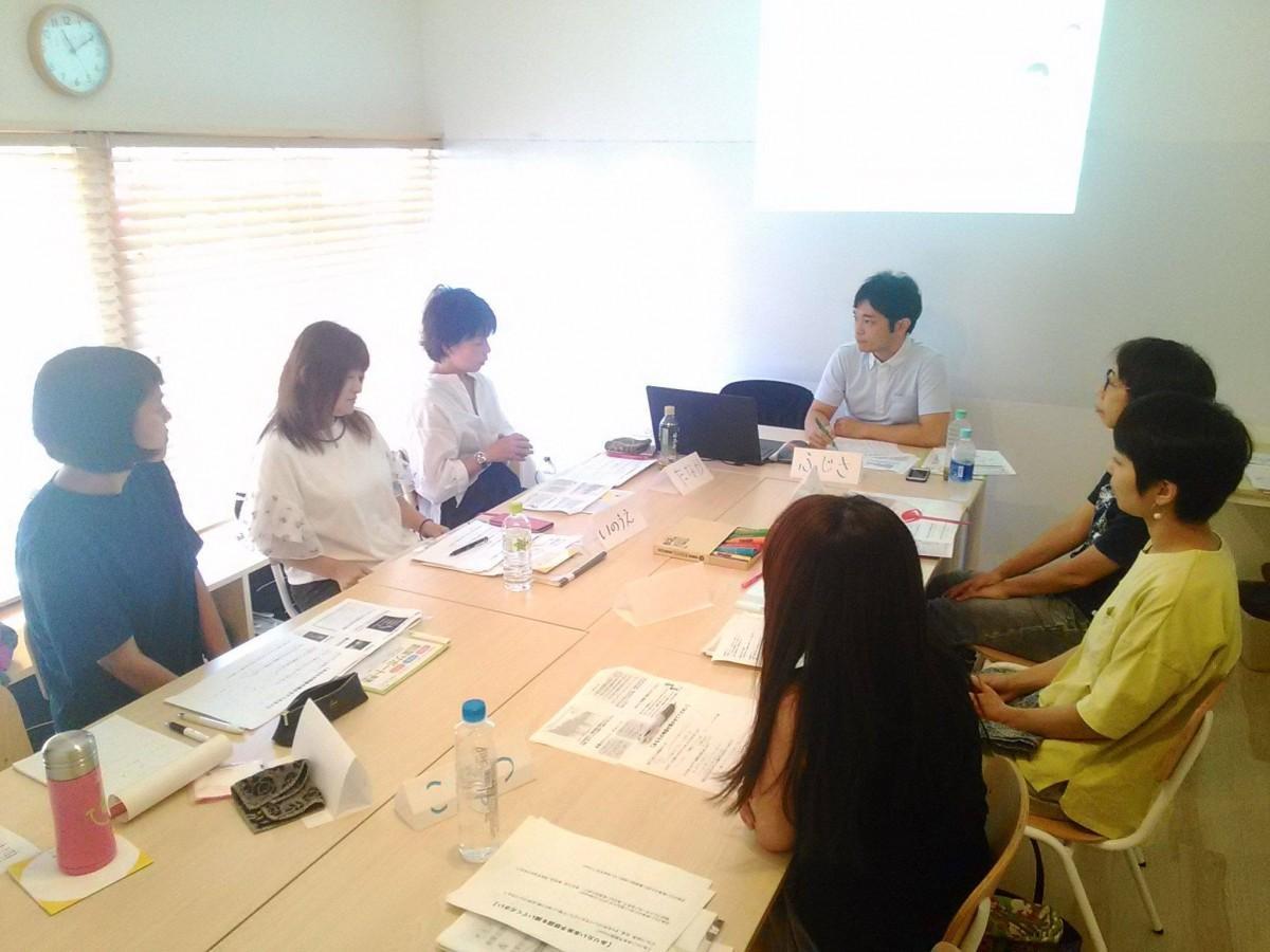 7月に開催した「創業支援セミナー&事業計画書作成セミナー」の様子