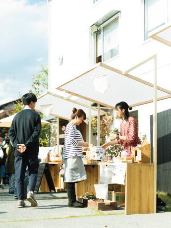 初開催となった昨年は晴天に恵まれ、200組以上が訪れた(撮影=寺島由里佳さん)