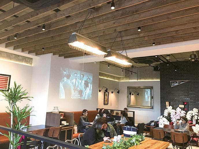 開催店舗として初参加する「HANA cafe style」の店内