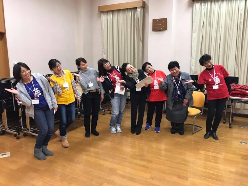 岩手町での「女子限定!リノベプロジェクト」終了後の参加者。笑顔があふれる©祥薫company