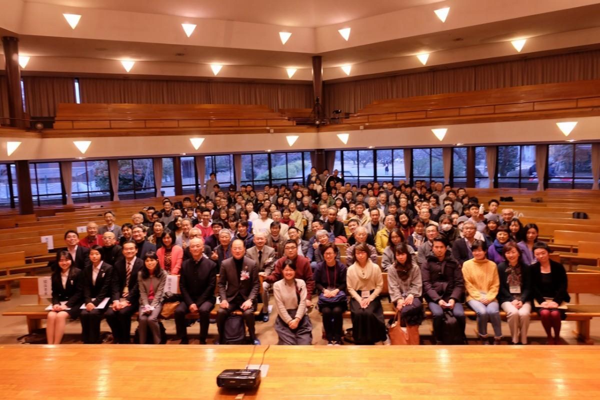 「ビジネスで地域の課題解決と地域活性を」と呼びかける世話人に応え、多くの参加者が集まった