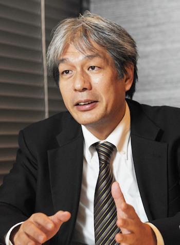 講師の野澤和弘さん(毎日新聞論説委員)