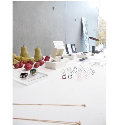 展示販売のイメージ(写真は過去に開催した作家展示の様子)