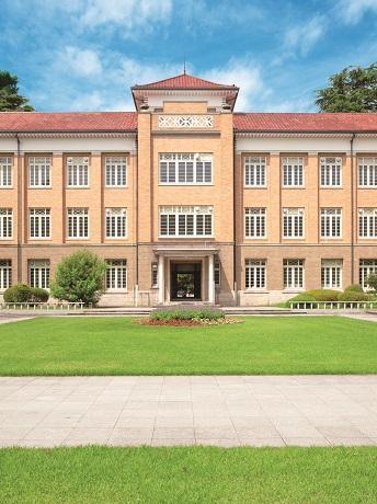 津田塾大学小平キャンパスの校舎
