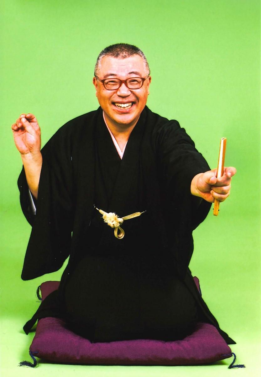 西東京市のPR親善大使も務める林家久蔵さん