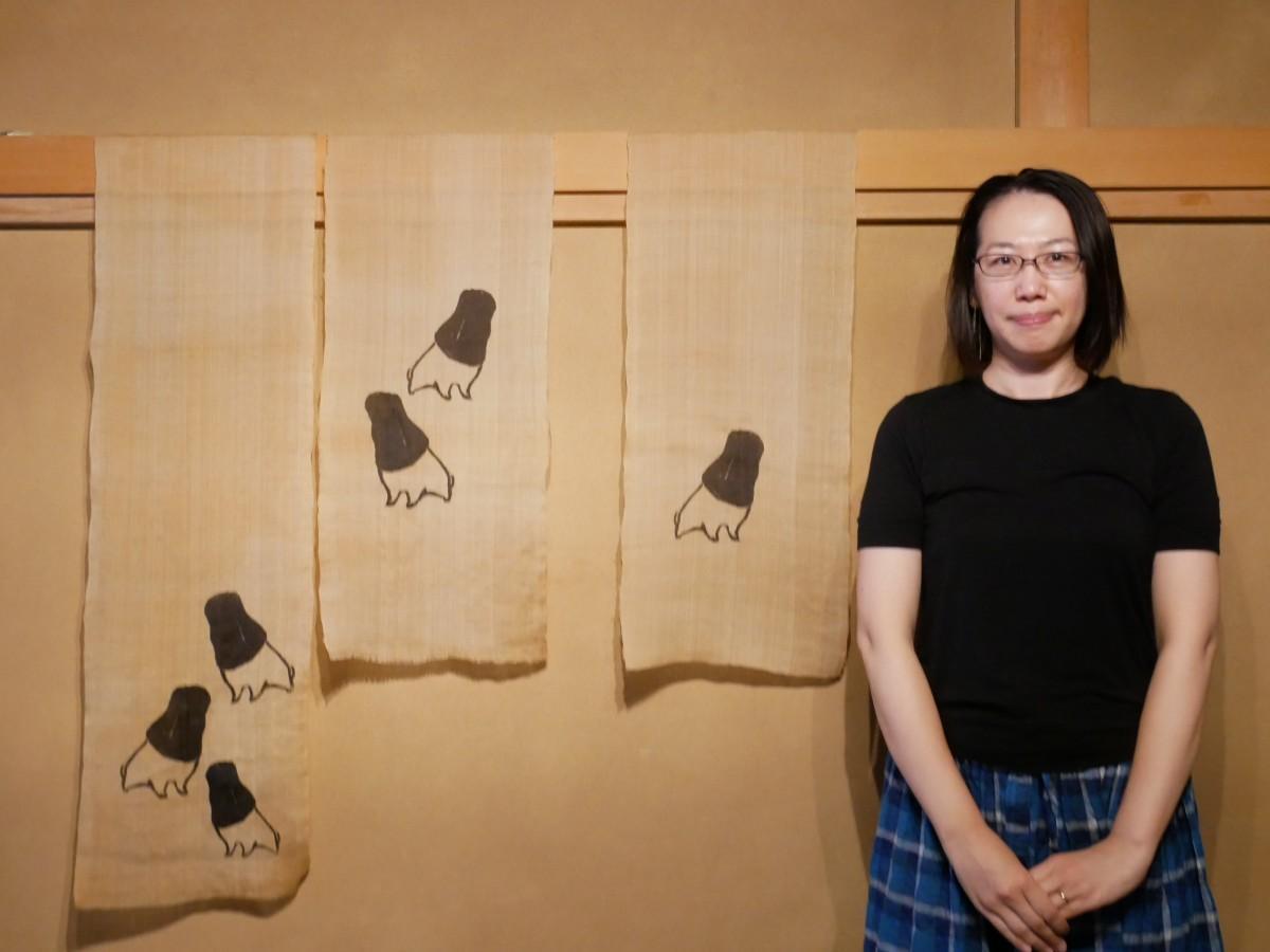 木版画家の瀧野尚子さん