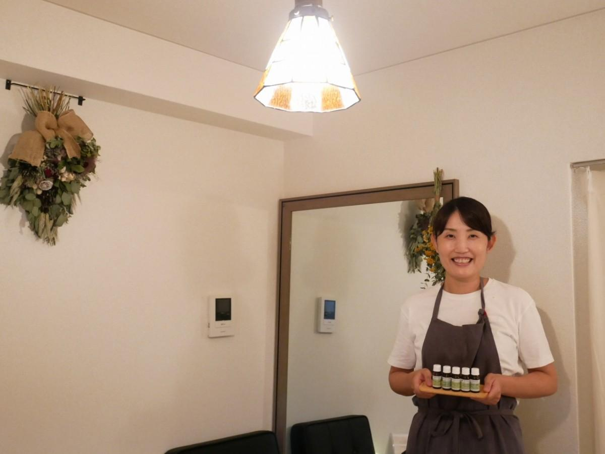 「ルーチェ」店主の井上舞さん