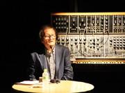 冨田勲さんが専門学校で講演-ポートピア以来30年ぶりの来神
