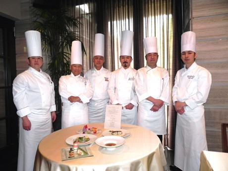 総料理長6人が「グランシェフ チャリティーランチ」を紹介