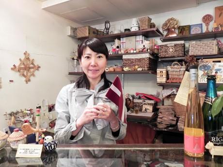 ラトビアへ移住するために閉店を決めた溝口明子さん