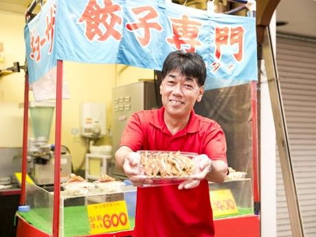 前回の人気投票1位に輝いた六甲本通商店街の「みそだれ餃子」