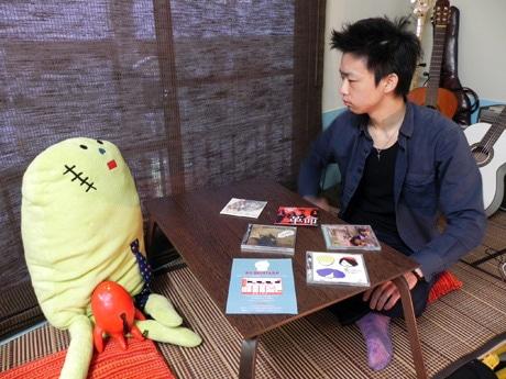 「スペースドッグ!レコード」店長のミッチーこと廣瀬正道さん