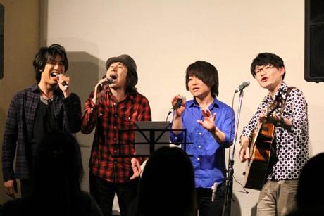 左から、中井善朗さん、岸本順一さん、稲葉勇樹さん、木下徹さん