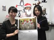 神戸のフクロウカフェ「ビビ&ジョージ」がカレンダー、全17羽登場