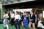 神戸・岡本商店街発アイドルユニット「石だたみボーイズ」がデビューイベント