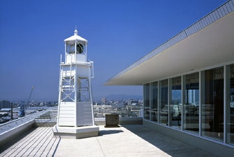 1月17日に一般公開する「ホテルに建つ公式灯台」