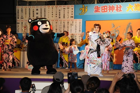 昨年の「生田神社 大海夏祭」の様子