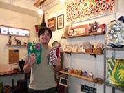 神戸・モトコー3番街にアジアン雑貨店 空き店舗活用、シルクロード諸国の商品展開
