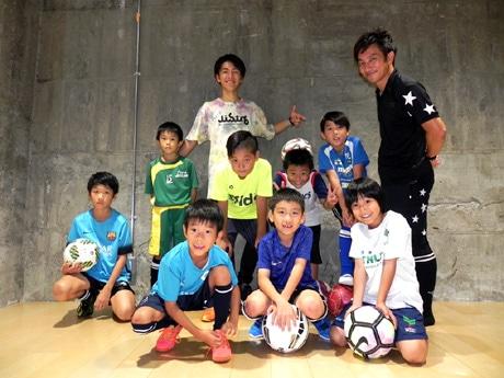 9月28日に行われた「Ibukiフリースタイルフットボールレッスン」無料体験会の様子