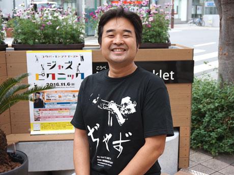 MEW元町東協議会 企画委員長の北出義孝さん