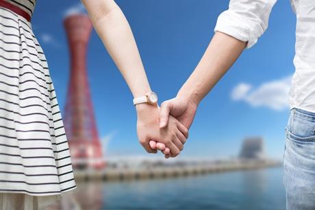 「神戸でデート」観光プロモーション 手つなぎ写真募集も