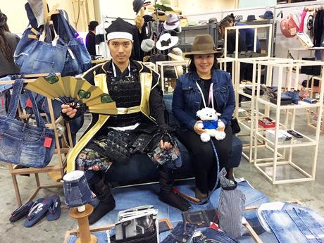 神戸の老舗帽子店「マキシン」が米ファッション展示会「MAGIC」初出展