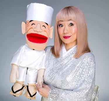 神戸市出身でオーストラリア・メルボルン在住の女性上方落語家・笑福亭笑子さん