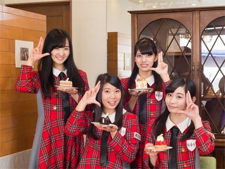 「KOBerrieS♪」左から藤本あきなさん(あっきーな)、長谷川鈴菜さん(すーな)、岡野春香さん(はるる)、大出姫花さん(ひめ)