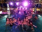 温泉施設の混浴温水プールで神戸初「ナイトプール」 週末はパーティーも